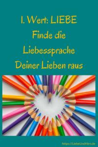 Liebessprache Liebe weitergeben Kinder Familien Eltern