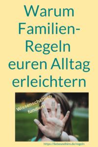 Vorteile durch Familienregeln im Alltag