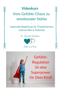 So lernen Kinder Gefühlsregulation und Gefühlswahrnehmung
