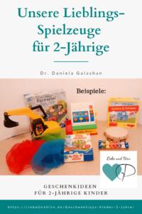 Spielsachen für 2-jährige Kinder