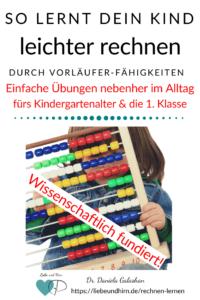 Leichter rechnen lernen und Mathe üben für Kindergarten und Schule